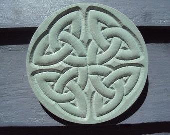 Garden Stone Decor, Beautiful Celtic Design