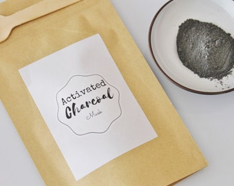 All natural Activated Charcoal Mask