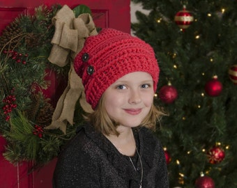 Textured Slouch Beanie for Toddlers through Adults