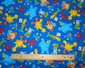 VIP Cranston Sesame Street Workshop Cotton Fabric