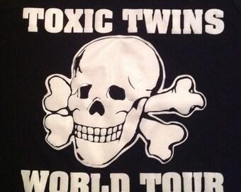 Vintage AEROSMITH Toxic Twins Tour TANK TOP 80s T Shirt rare