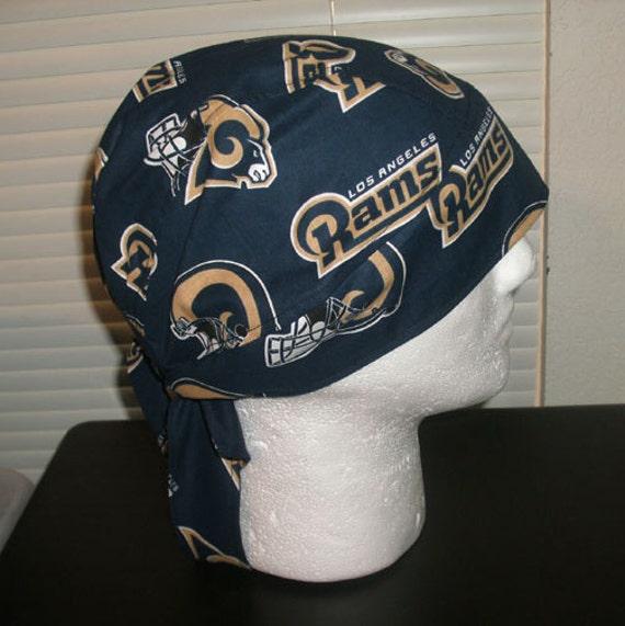 Nfl Los Angeles Rams Do Rag Skull Cap Chemo Cap Headwear