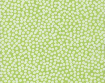 Spot On Chartreuse Abstract Dots from Robert Kaufman's Spot on Collection