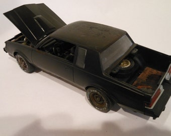 Classicwrecks Scale Model Rusted Wrecked Buick GNX Car
