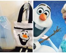 10 Elsa + 10 Olaf (Set of 20) Frozen Bag, Frozen Favor Bags, Frozen Party Bags, Treat Bag Loot Birthday Olaf Snowman, Frozen Favor Bag