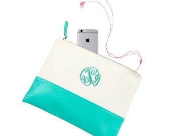 "Shop ""monogram tote"" in Cosmetic & Toiletry Storage"