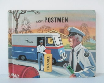 About Postmen, Picture Book, Read Aloud, Children's Book, Delivering Mail, Child Education Book