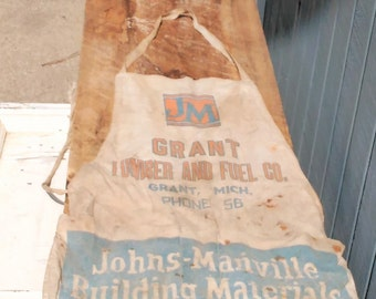 Vintage Lumber Apron - Lumber Pouch