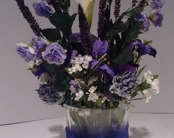 Floral Arrangement Purple