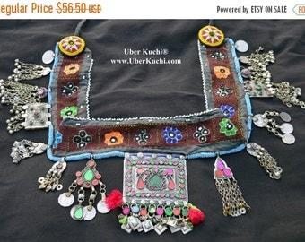 WINTER SALE Vintage Afghanistan Kuchi Belt Bohemian Hippie Gypsy Tribal Belly Dance Uber Kuchi®