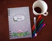 Busy Mom Checklist Planner - Flamingo Dream Edition