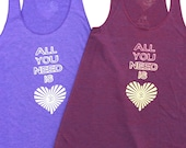 All You Need is LOVE Racerback Tank