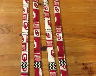 OU lanyards, teacher lanyard, Boomer Sooners, Oklahoma ,  University of Oklahoma, teacher, student