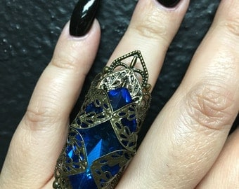 Royal jeweled ring