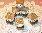 Happy Face Smore Charm