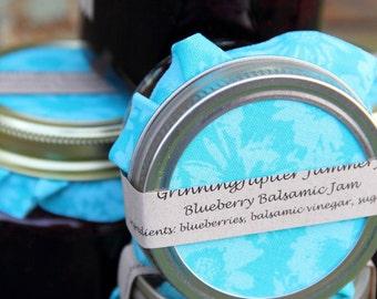 Homemade Blueberry Balsamic Jam - 4oz