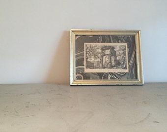 Framed Italian Print