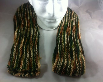 Wilderness Variegated Thin Scarf