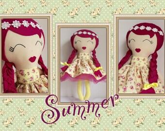 Summer Keepsake Doll