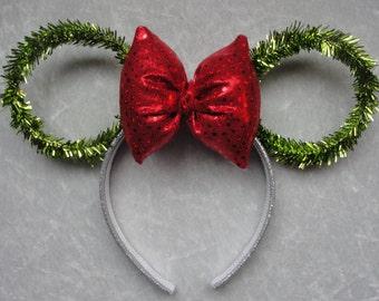 Holiday Garland Mickey Ears