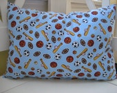 Travel Pillow - Toddler Pillow - Daycare - Sports - 12x16 Pillow - Stuffed with premium polyester fiber fill