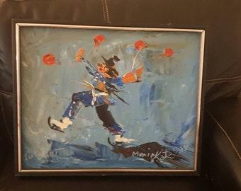 Morris katz oil painting