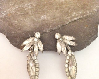 Vintage Weiss Earrings - Weiss Jewelry - Vintage Costume Jewelry