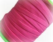 "1/4"" Neon Pink Elastic. 5 Yards"