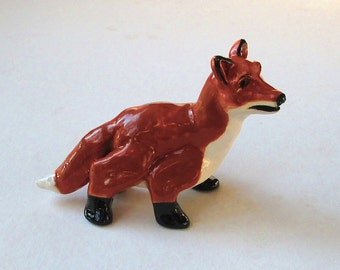 Red Fox Clay Whistle