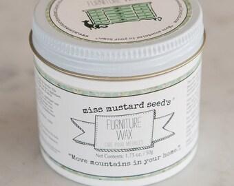 Miss Mustard Seed's Milk Paint | Furniture Wax | Clear Wax