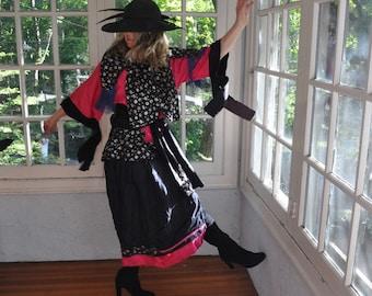 Gypsy Folk Lore Costume/Vintage Costume/Size Medium