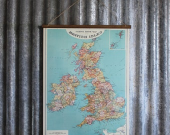 British Isles Wallhanging