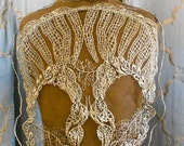 Gold Crocheted Skull Appliques