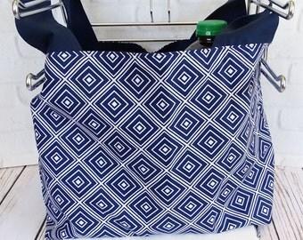 Reusable Grocery Bag - Eco Friendly Bag - Grocery Tote Bag - Farmers Market Tote - Geometric Bag - Market Tote Bag - Summer Tote Bag - Tote