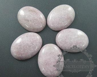 2pcs 30x40mm oval purple star stone nature jasper gemstone cabochon 4120017