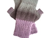 Fingerless Mittens, Fingerless Texting Mittens, Fingerless Gloves, Hand Knit Mittens,  Fingerless Boho Mitts, Hipster Mittens MADE TO ORDER