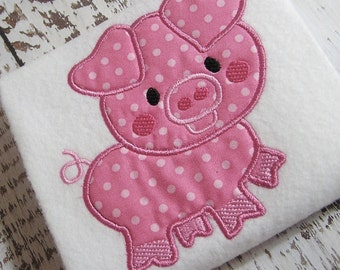 Pig Fabric Etsy