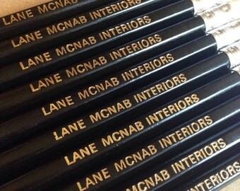 10 Personalised Pencils. Custom Printed with name of your choice!!