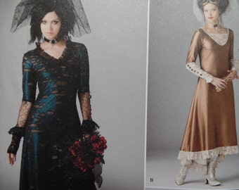 Simplicity 1772  Misses Steam Punk Wedding Dressessizes 12-20