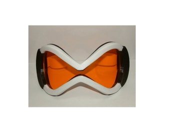 Anime Video Game Orange visor cosplay Glasses.