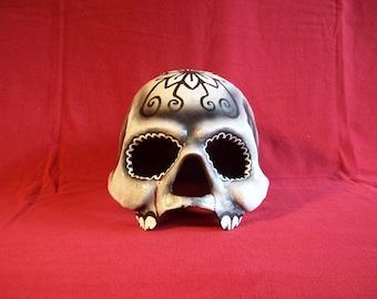 Day of the Dead skull helmet