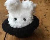 Bunny in a hat OOAK