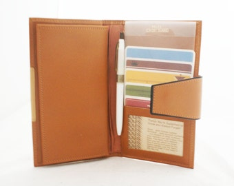 Wallet - Rolfs Cowhide Leather Large Long Wallet with checkbook cover and credit card organizers