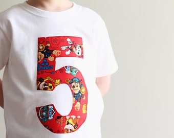 Paw Patrol Birthday, Boys Paw Patrol Shirt, Boys paw patrol, Boys Birthday Shirt, Paw Patrol, Paw Patrol Party, Boys Birthday Shirt