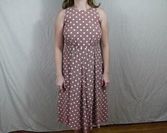 Vintage 80's/90's Polka Dot Dress