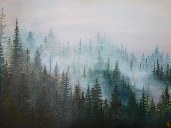 How To Paint Pine Trees In Oil