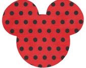 Mickey Mouse iron on applique - DIY