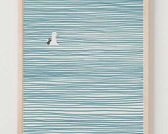 Fine Art Print.  Seagull.  March 24, 2013.