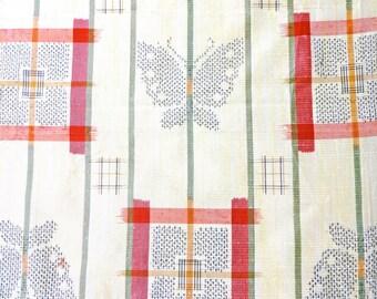 Vintage KIMONO Fabric scrap