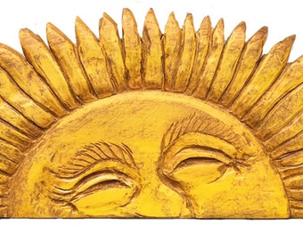Peeking Sun Large Door Topper